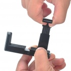 Universal Swivel Tripod Stand Holder for Cell Phone/Camera - Black