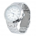 Stylish Stainless Steel Water Resistant Quartz Wrist Watch (1 x LR626)