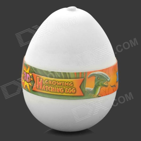 how to make a hatching dinosaur egg