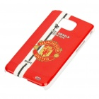 Football/Soccer Team Protective ABS Case for Samsung i9100 Galaxy S2 - Manchester United