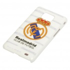 Football/Soccer Team Protective ABS Case for Samsung i9100 Galaxy S2 - Real Madrid
