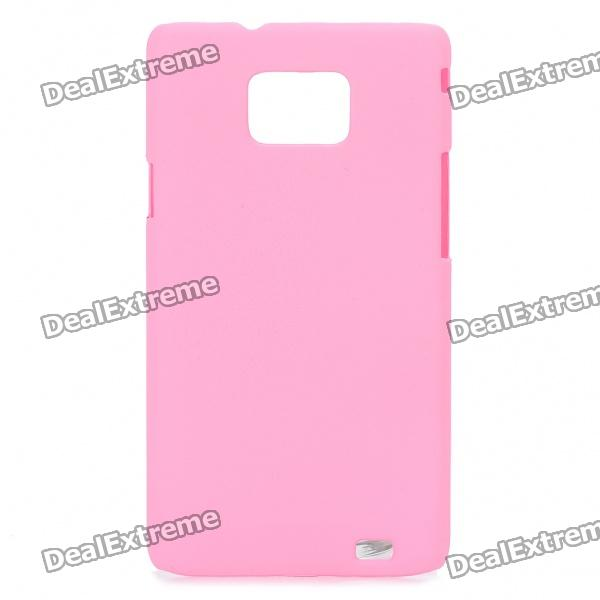 Protective Matte Frosted ABS Back Case for Samsung Galaxy S2 i9100 - Pink order list for marek