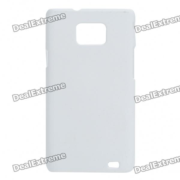 Protective Matte Frosted ABS Back Case for Samsung Galaxy S2 i9100 - White