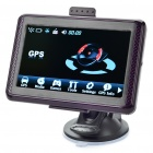 "4.3"" Touch Screen LCD WinCE 6.0 GPS Navigator w/ FM + Brazil / Argentina 4GB SD Card - Purple"