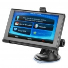 "5.0"" Touch Screen LCD WinCE 6.0 GPS Navigator w/ FM + Internal 4GB Brazil / Argentina Maps - Black"