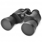 Mystery Portable 10X 50mm Binoculars w/ Carrying Pouch/Cleaning Cloth - Black