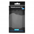 "Rechargeable ""2000mAh""External Battery Back Case for BlackBerry 9800 - Black"