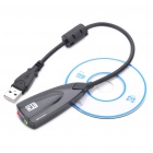 USB 2.0 Virtual 7.1 Channel Surround Sound Card Caleb (20cm-Cable)