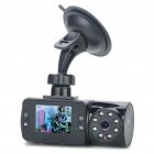 300KP Wide Angle Car DVR Camcorder w/ 8-IR LED Night Vision/TF Slot (2.0