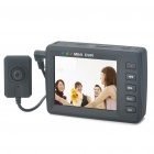 Mini DVR 2.5&quot; LCD Digital Video Recorder with TF Card Slot and Remote Control - Black