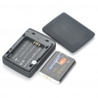 "Mini DVR 2.5"" LCD Digital Video Recorder with TF Card Slot and Remote Control - Black"