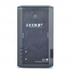 EDUP-9505N 802.11b/g/n 2.4GHz 150Mbps 3G Wireless Router with Battery - Black