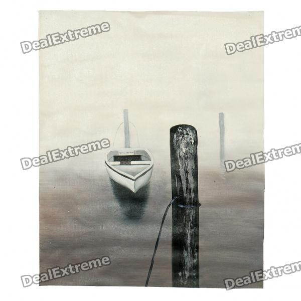 Handmade Hand Painted Oil Painting - Loneliness