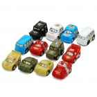 Funny Mini Car Children Toys (12-Piece Set)