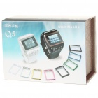 Q5 Watch Style 1.3&quot; Touch Screen Single SIM Quadband GSM Cell Phone - Blue + Black