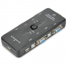 USB 2.0 Manual 4-Port KVM Switch