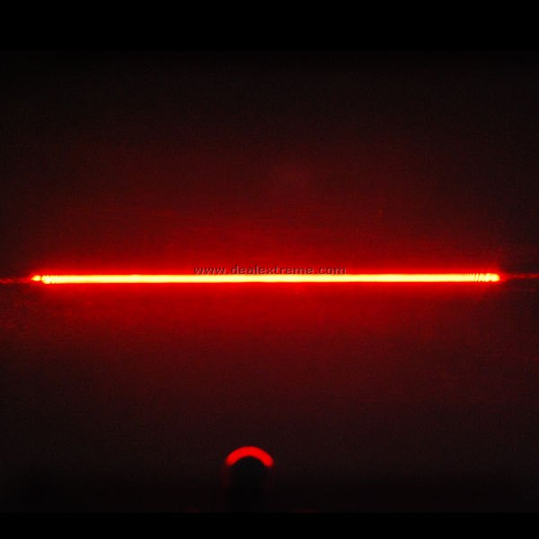 Red Laser Keychain (3xAG13) - Free Shipping - DealExtreme