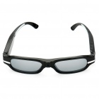 Cool USB Rechargeable 280mAh Sunglasses MP3 Music Player with Earphone - Black