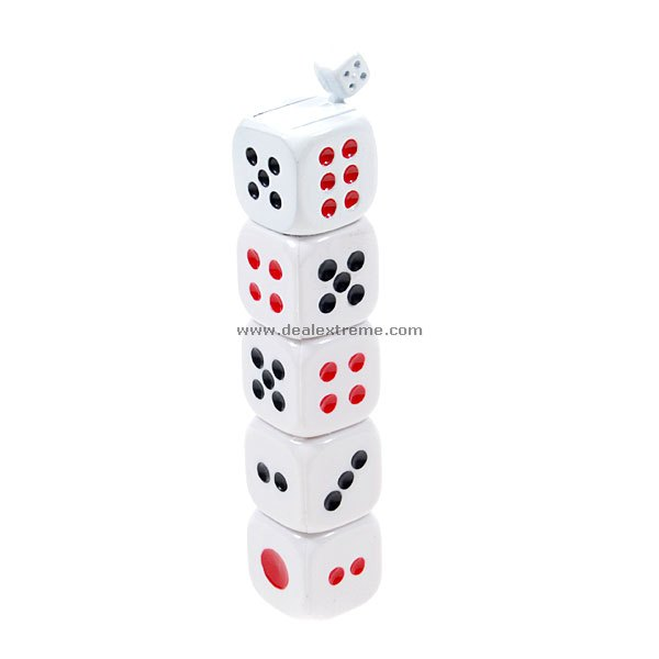 Stacked Dices Butane Lighter