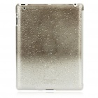 Stylish Super Thin Protective PC Cover Case for Ipad 2 - Grey