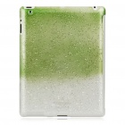Stylish Super Thin Protective PC Cover Case for iPad 2 - Grass Green