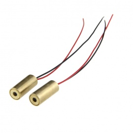 Genuine New Wish 5mW Red Laser Module (5V 2-Pack)
