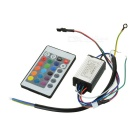 10W RGB LED Driver with Remote Controller