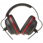 Professional Anti-Noise Ear Muff - Black + Red
