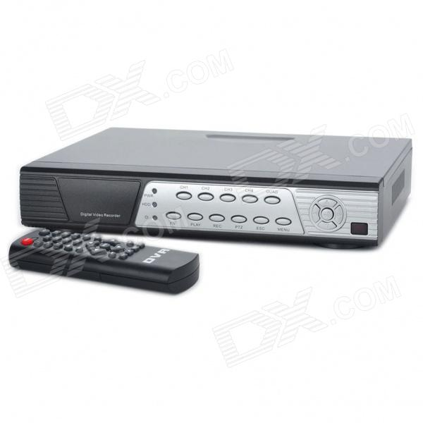 Embedded Linux 4-CH Netzwerk-DVR Digital Video Recorder w / Dual USB/LAN/VGA/RS485/Video/Audio/Mouse