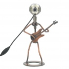 Cool Guitar Player Style 300KP PC USB 2.0 Webcam with Microphone & 4-LED White Light
