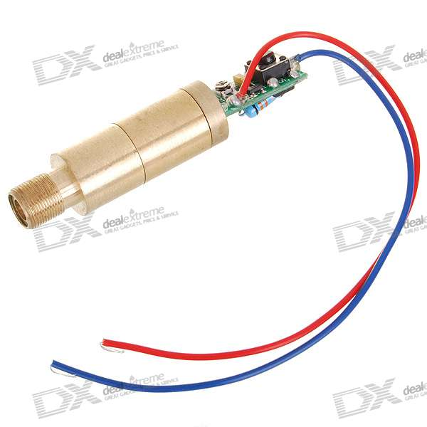 Genuine New Wish 5mW Green Laser Module (5V)