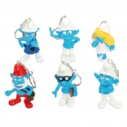 Cute Smurfs Anime Figures (6-Piece Set)