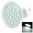 GU10 1.8W 24-SMD LED 170Lumen 5500-7000K White Light Bulbs (220~240V)