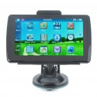 "5.0"" Touch Screen WinCE 5.0 GPS Navigator w/ FM/Bluetooth/AV-In/4GB Brazil Maps TF Card"