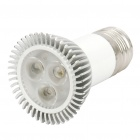 E27 4.2W 3-LED 180Lumen 2700-3500K Warm White Light Bulbs (100~265V)