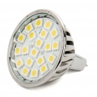 MR16 3.5W 20-SMD LED 280Lumen 2700-3500K Warm White Light Bulbs (11~18V)