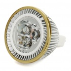 MR16 3.5W 3-LED 180Lumen 2700-3500K Warm White Light Bulbs (11~18V)