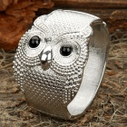Gorgeous Owl Style Hand Bracelet - Silver