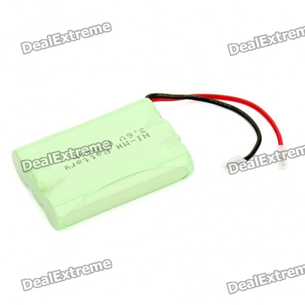Rechargeable 3.6V AAA 800mAh NI-MH Battery Pack 3 6v 2400mah rechargeable battery pack for psp 3000 2000