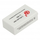 9V 6F22 Rechargeable 500mAh Lithium Battery - White