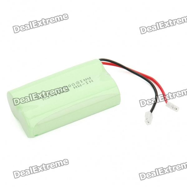 Rechargeable 2.4V AA 1800mAh NI-MH Battery Pack (Actual 800mAh) аккумуляторы hr06 aa duracell ni mh 1300 mah 2шт
