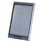 Portable Solar Powered 4000mAh Battery w/ Charging Adapters