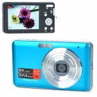 "DC-E70 5MP CMOS Compact Digital Camera Camcorder w/ 8X Digital Zoom/AV-Out/SD (2.7"" LCD)"