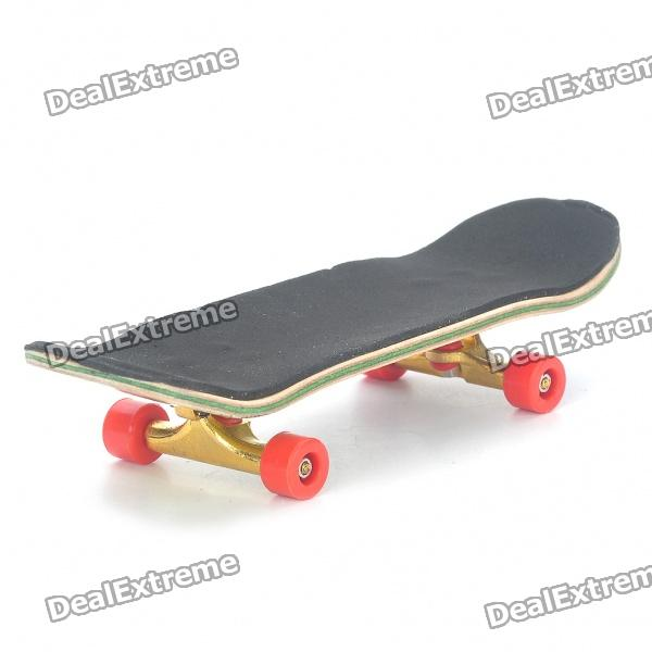 Wooden Finger Skate Board w/ Screwdriver (Random Pattern)