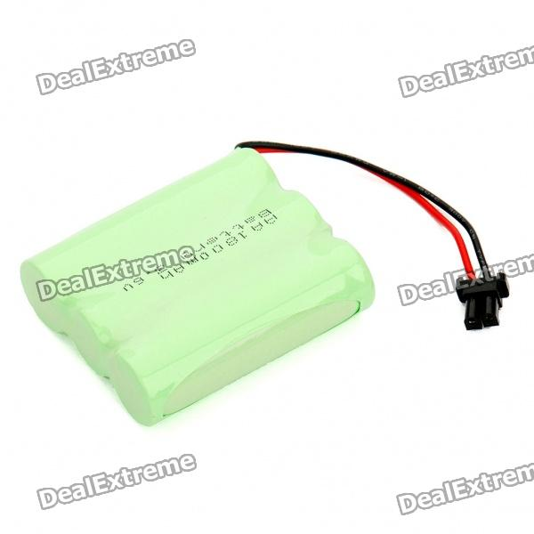 Rechargeable 3.6V AA 1800mAh Ni-MH Battery Pack (Actual 800mAh)