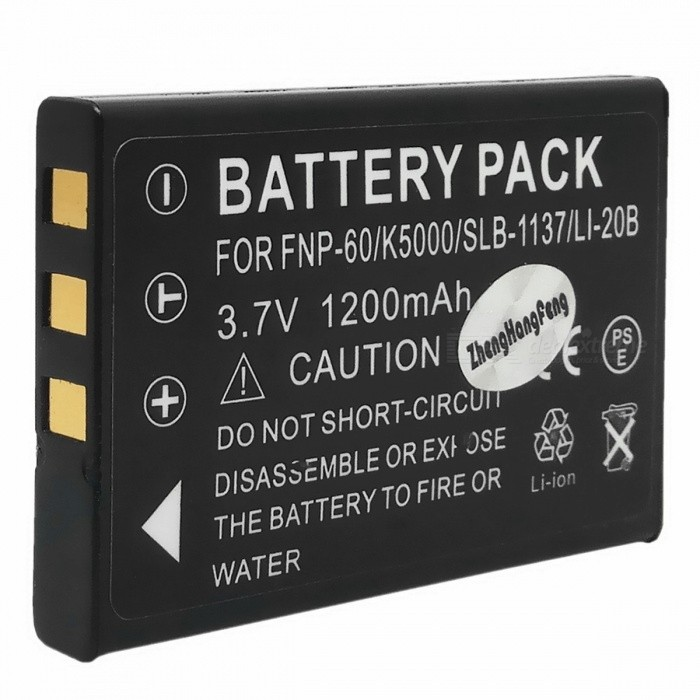 Replacement NP-60 3.7V 1800mAh Battery Pack for FujiFilm FinePix 50i/601/F401 + More hot sale battery np 95 np 95 rechargeable camera battery for fujifilm finepix f30 f31fd real 3d w1 x s1 x100 x100s