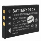 "Replacement NP-60 3.7V ""1800mAh"" Battery Pack for FujiFilm FinePix 50i/601/F401 + More"