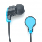 Trendy Stereo Earphones EV-095SL - Blue + Black