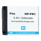 "Designer's Replacement NP-FR1 3.6V ""1250mAh"" Battery for Sony DSC-P100 Series + More"