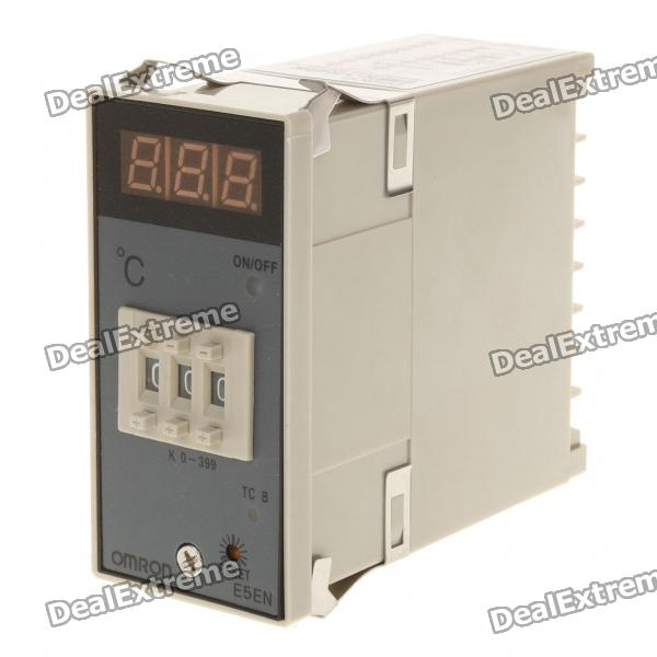 E5EN YR40K 3-Digit LED Digital Temperature Controller Thermostat (AC 220V) e5en yr40k 3 digit led digital temperature controller thermostat ac 220v